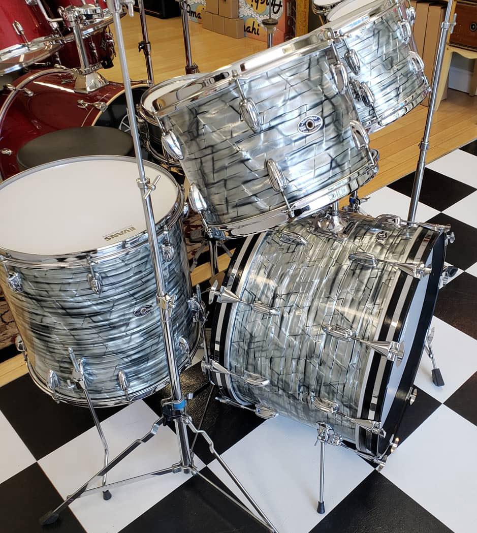 Clarks Music Center Drumset Detailing Jacksonville Florida
